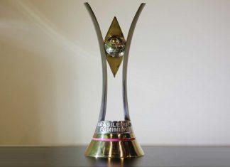 Foto do troféu do Campeonato Brasileiro Feminino A-1